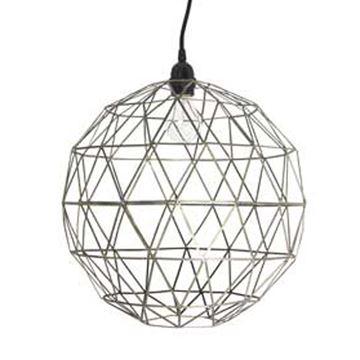 house doctor lampe ball metal. Black Bedroom Furniture Sets. Home Design Ideas